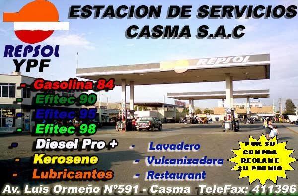 SERVICENTRO CASMA - GRIFO REPSOL