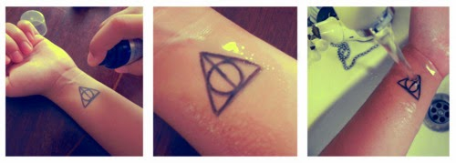 Sommertrends: Kleine Tattoos - temporär zum Aufkleben