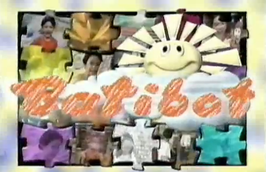 Batibot Filipino Educational Children's Television Program GMA 90's Billboard Banner