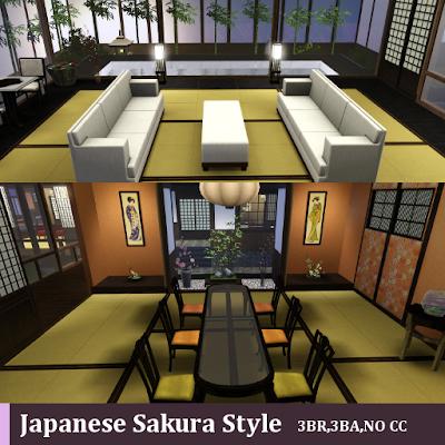 Japanese Sakura Style