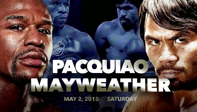 Pacquiao VS Mayweather: The fight of the century.