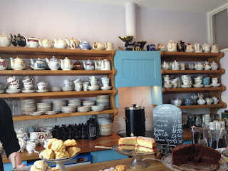 South Foreland teapots