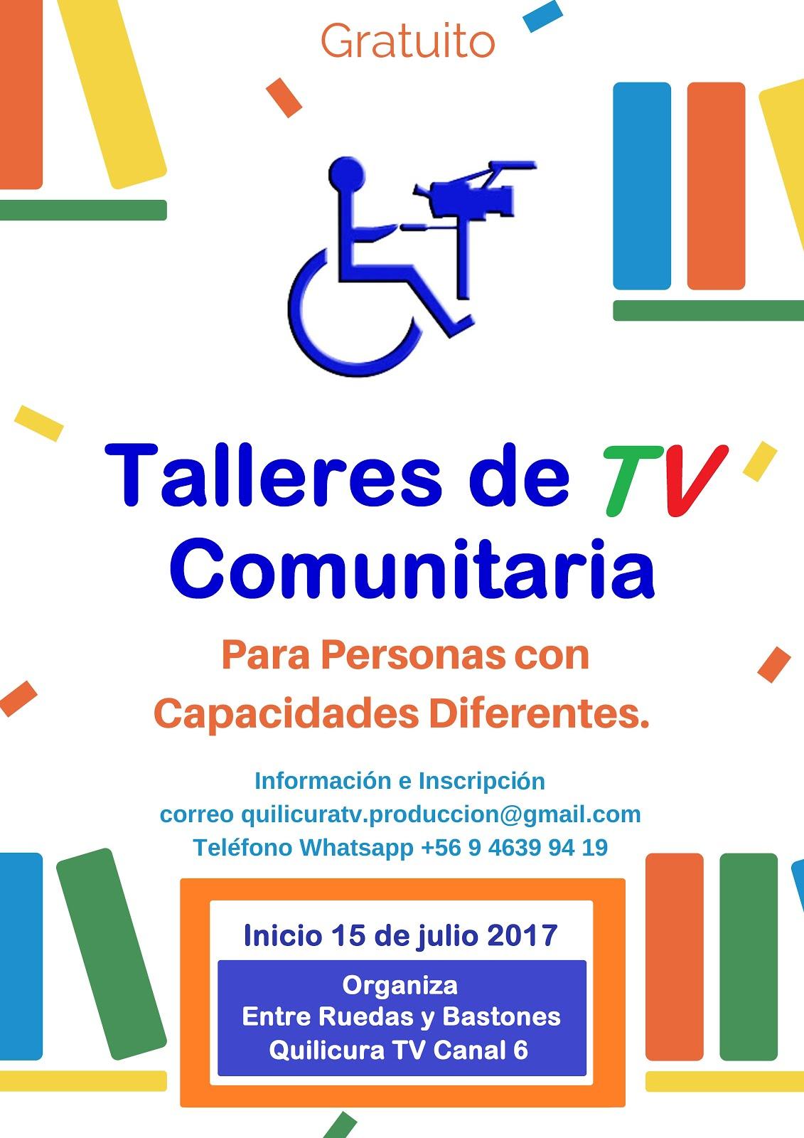 TALLERES DE TV PARA PERSONAS CON CAPACIDADES DIFERENTES Quilicura TV 2017