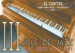III Cicle de jazz del Centre