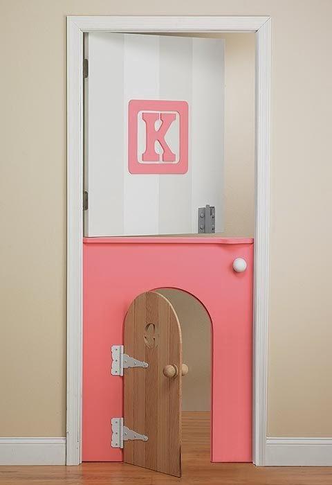 13 id es de portes pour les chambres d 39 enfants for Decoration pour porte de chambre