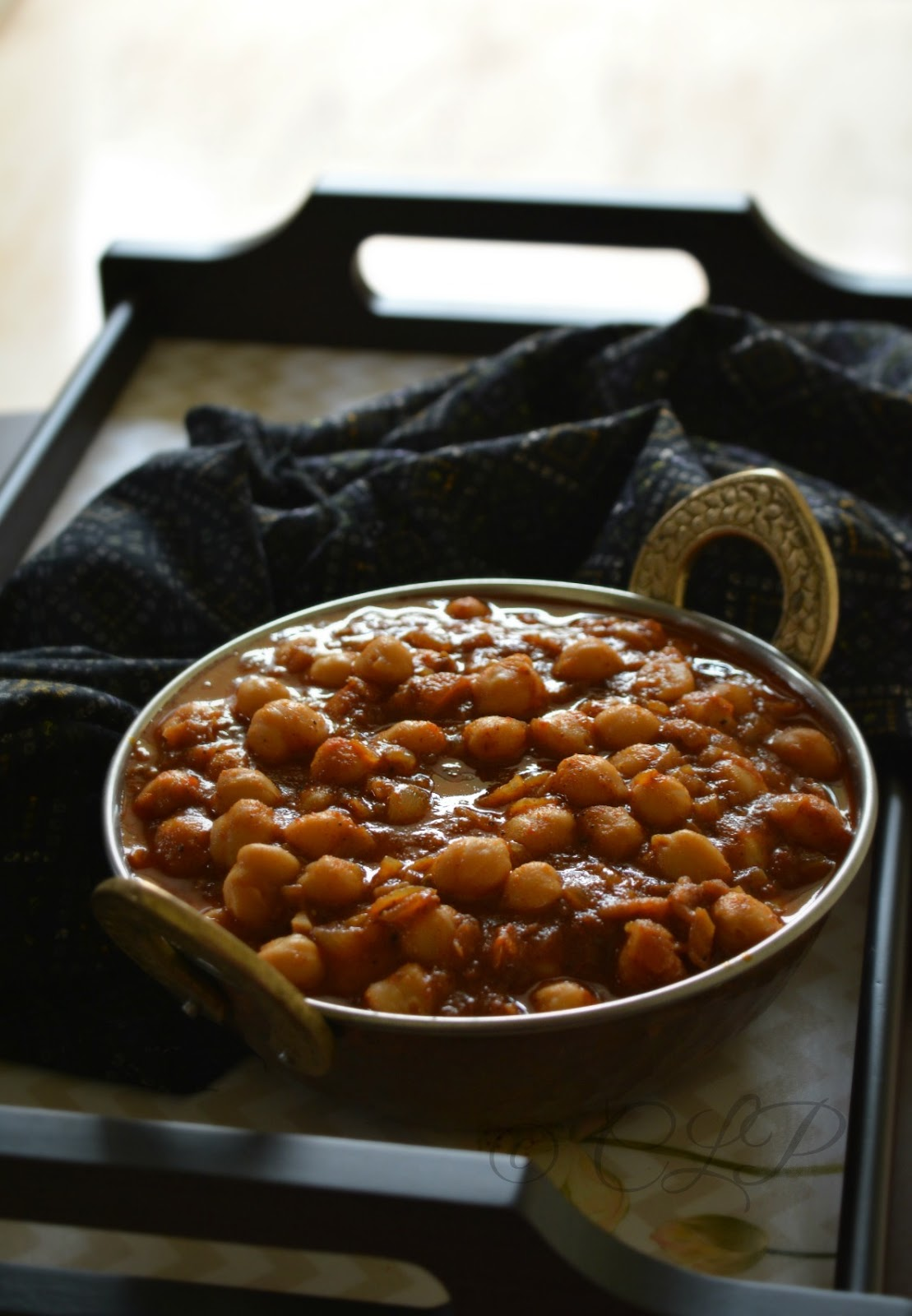 Chole Masala for Bhature