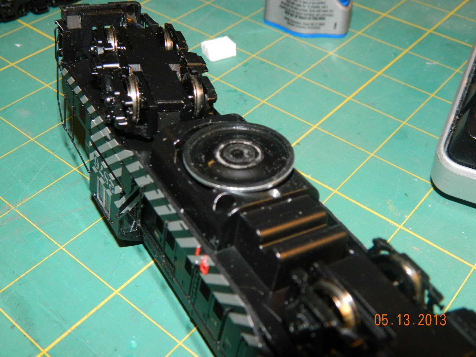 Bachmann Gp9 Installing Tsunami Sound Wiring Diagram Speaker Lying In Place I Did Not Glue The