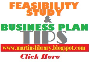 See samples of Feasibility Study and Business Plan