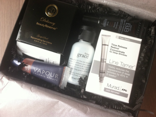 Sample Society By Beauty Bar - December 2012 Review - Monthly Beauty Subscription Boxes
