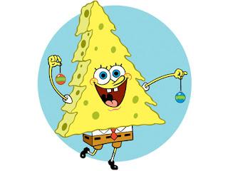 picture christmas sponge bob printable
