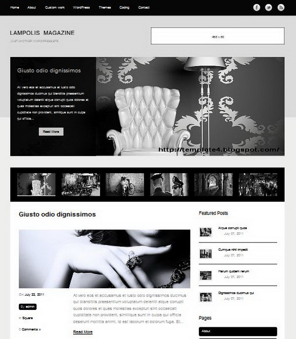Lampolis Magazine WordPress Theme