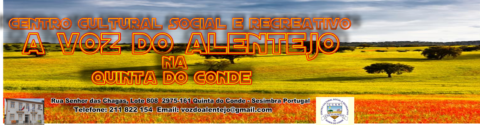 Centro Cultural Social e Recreativo A Voz do Alentejo na Quinta do Conde