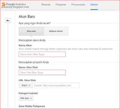 Cara Menambahkan Akun Baru ke Akun Google Analytics