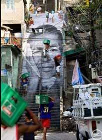 arte favelas di rio