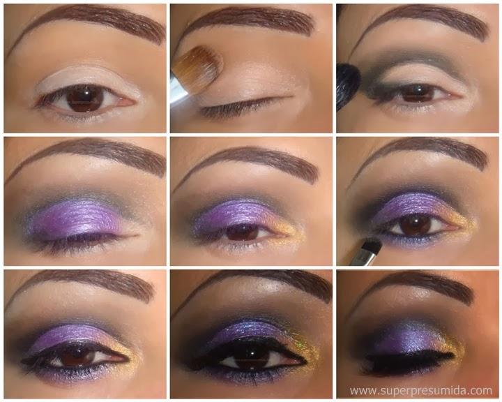 passo a passo , maquiagem , make up , maquiagem lilás, maquiagem para festa , maquiagem para noite , maquiagem de cores , maquiagem para verao