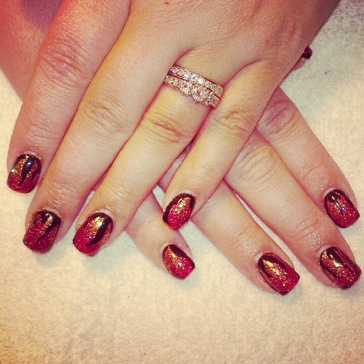 Gorgeous Autumn Inspired Nails: Never A Naked Nail: Fall Inspired Nails