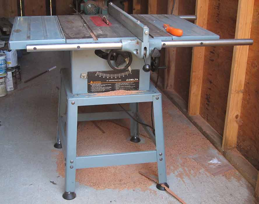 Lloyd s blog two saws made in america Used table saw