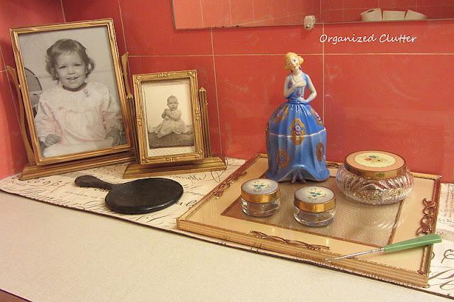 Vintage vanity jars