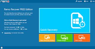 تحميل برنامج Remo Recover Free لأسترداد وأستعادة البيانات والملفات المحذوفة 1.0.0.15
