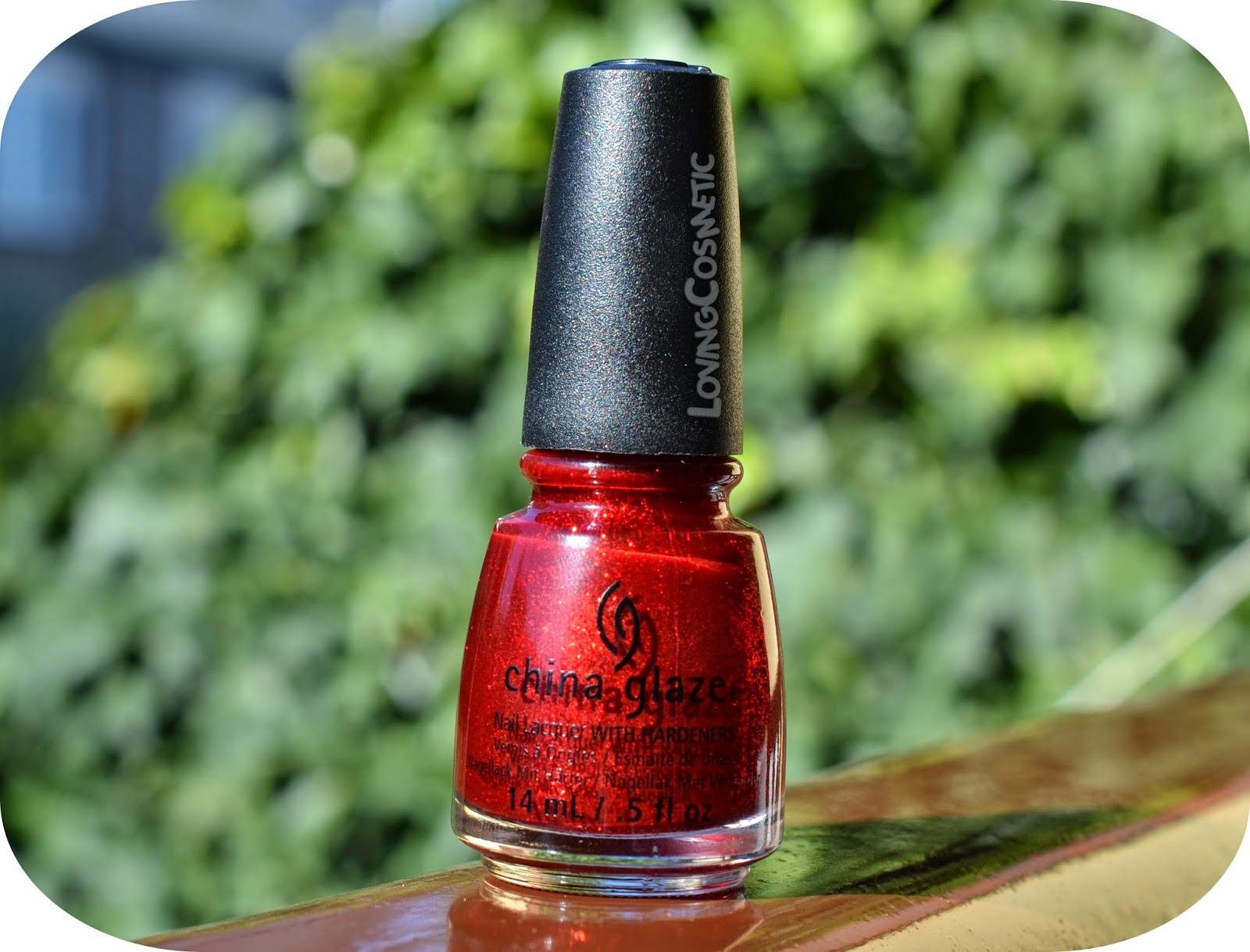 Ruby Pumps China Glaze Esmalte uñas nail polish