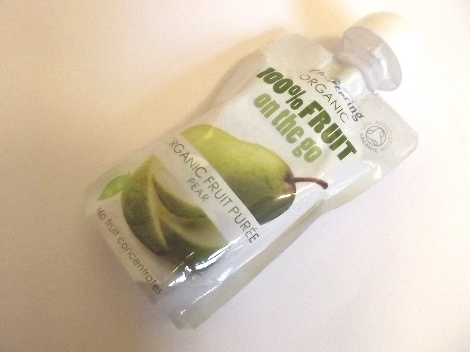 Clearspring 100% organic fruit on the go - pear