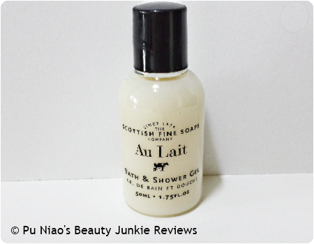 Scottish Fine Soaps Au Lait Bath & Shower Gel