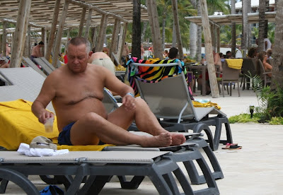 hairy mature blog - older dad gay - beach nude man