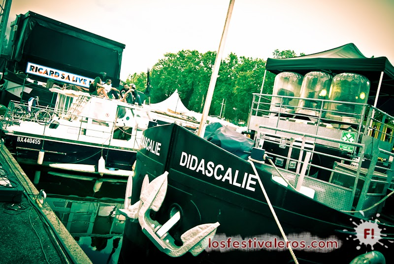 Le Port del Canal du Midi durante el Festival Weekend des Curiosités 2014