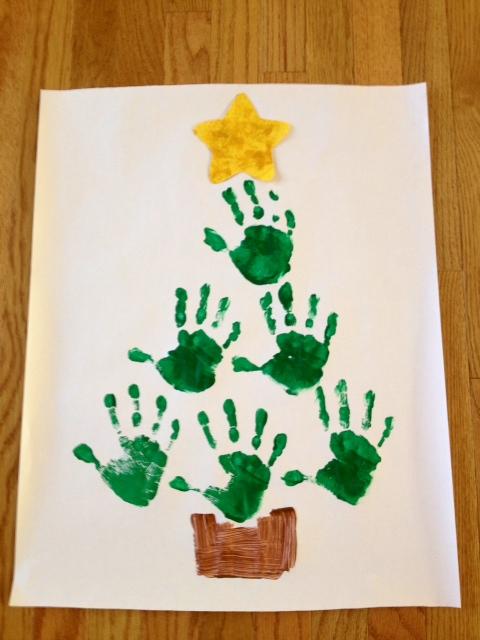 christmas tree handprint poem - photo #4