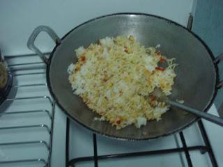 campurkan nasi