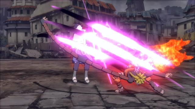 Kyubi Mode Mecha Naruto vs Sasuke Demo Screen Shots