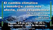 Charla-Encuentro: El cambio Climatico y nosotras.Como afecta,como respondemos