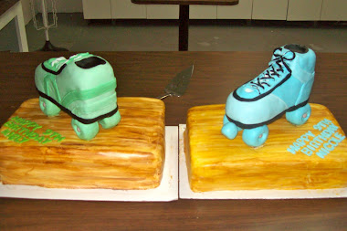 Roller Skate Cake