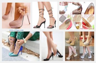 Tám bí quyết đi giày cao gót không đau chân