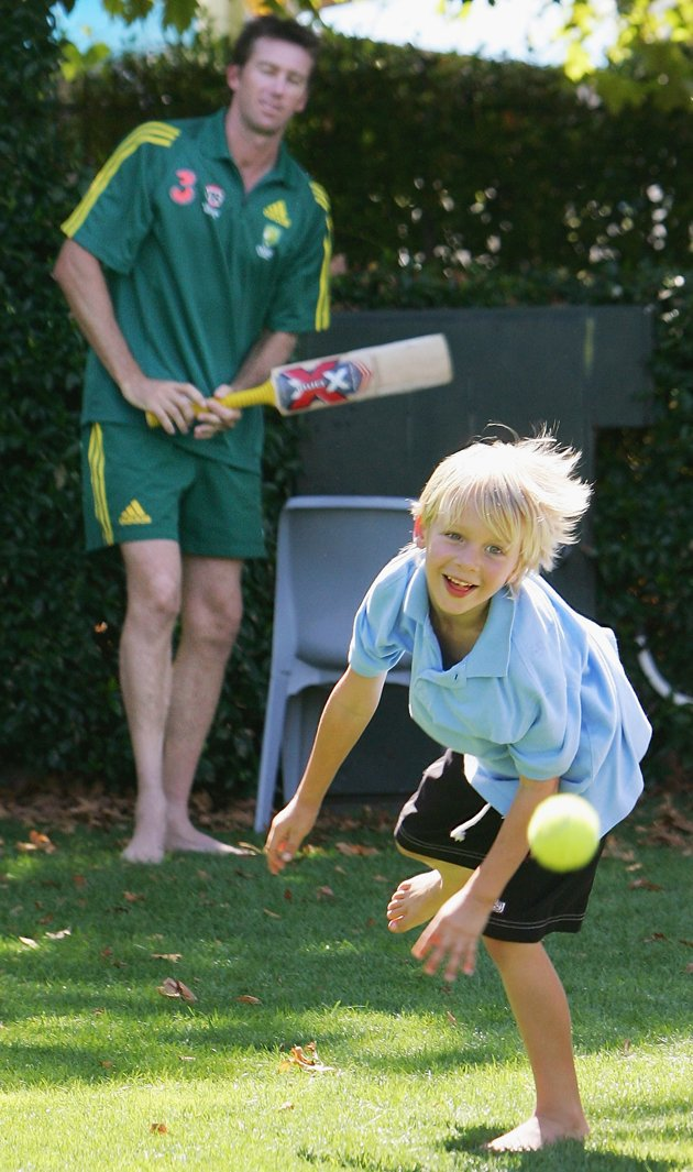Glenn McGrath Son