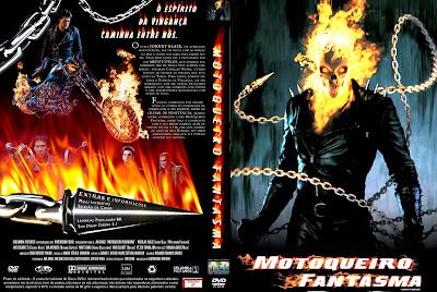 Motoqueiro Fantasma DVD Capa