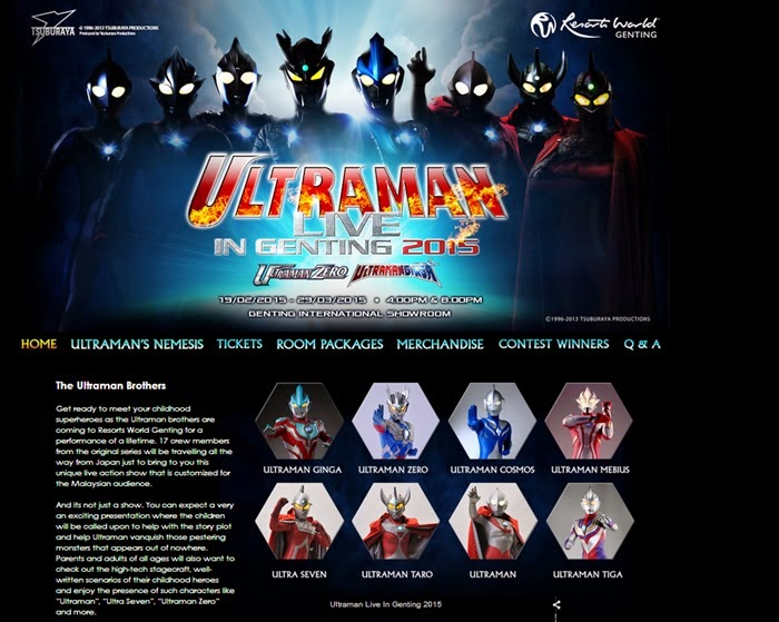 Wordless Wednesday 57 Ultraman Live In Genting 2015