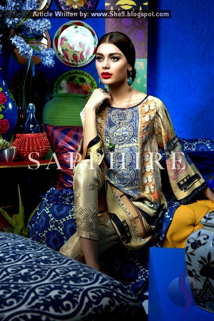 Sapphire Silk Ready to Wear Pret Collection