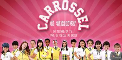 agenda de shows completa Carrossel 2013