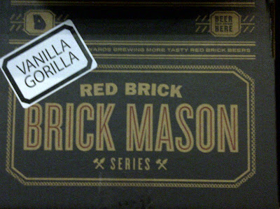 Red Brick Brewing Brick Mason Series Smoked Vanilla Gorilla