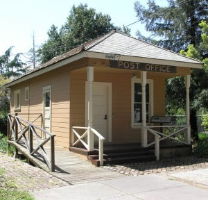 Coyote Post Office- Built 1862