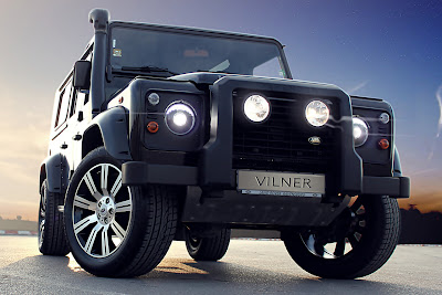 Sport Cars on Sport Car Garage  Vilner Land Rover Defender For Off Road  2012