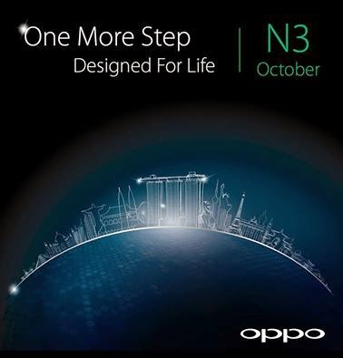 Oppo To Release Its New Oppo N3 Soon