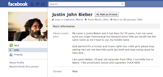 justin john bieber. old man with justin bieber name funny facebook fail