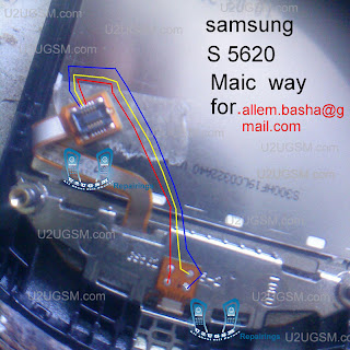 Samsung S5620 Mic problem solution