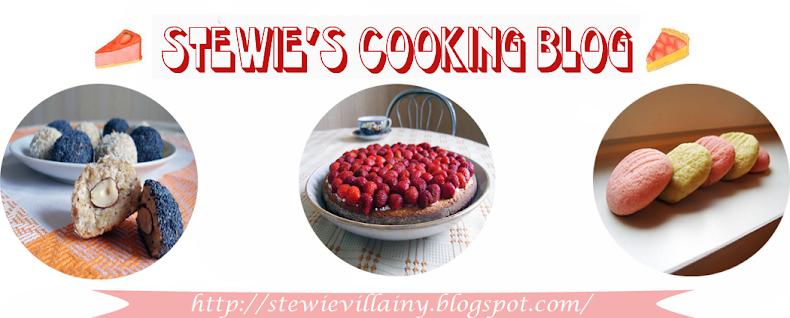 Stewie's cooking blog