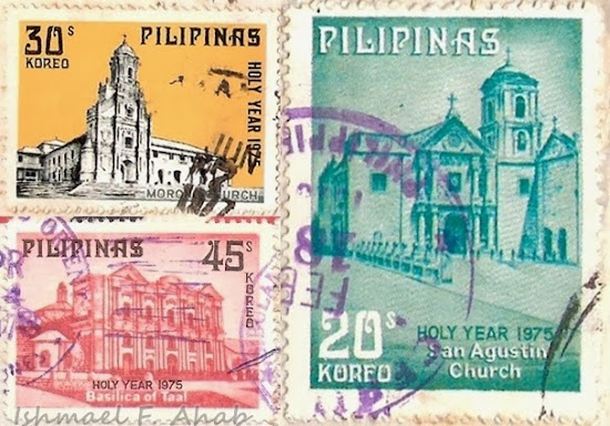 Philpost stamps of churches