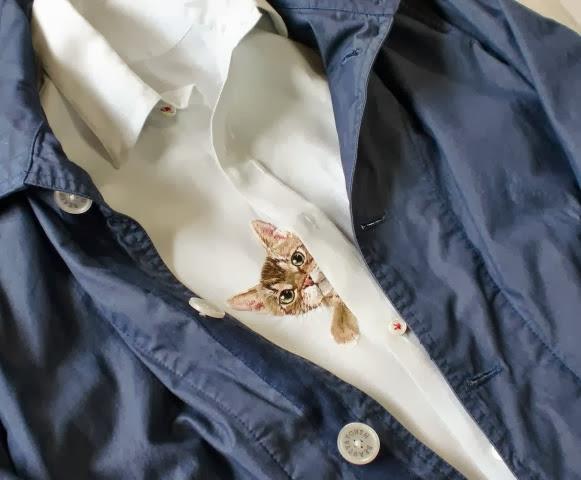 Camisa com gatinhos