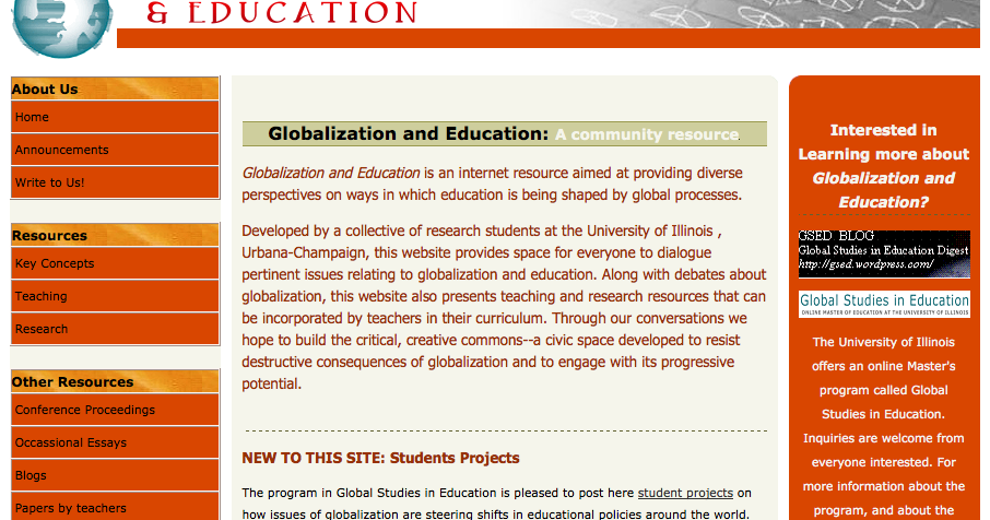 essay on education and globalisation