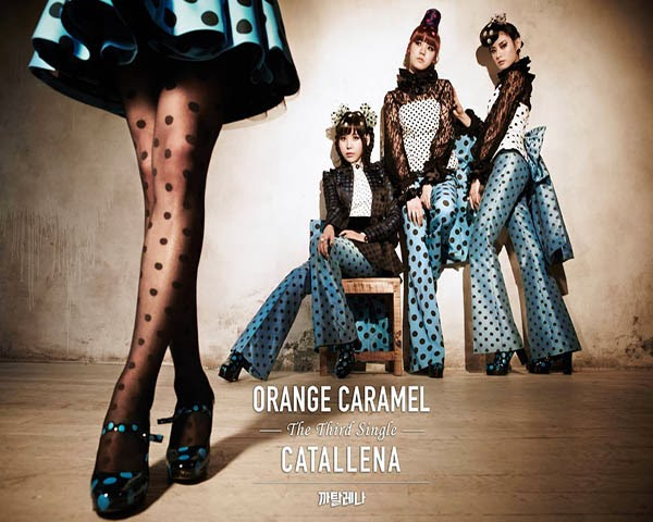 Orange Caramel Lanza el MV de Catallena